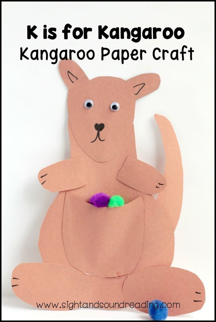 letter k crafts best 25 kangaroo craft ideas on kangaroo 22893 | bc388159b8b0ed0da34c04aae03ce18c