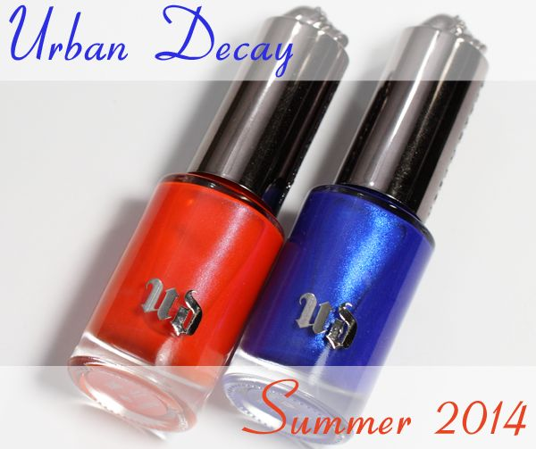 Urban Decay Bang and Chaos Nail Polish for Summer 2014 – Swatches