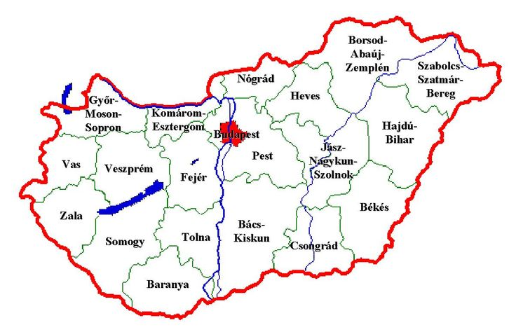 magyarország térkép - Google keresés