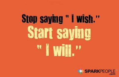 This is so true. The words you use are powerful! | via @SparkPeople #motivation #quote