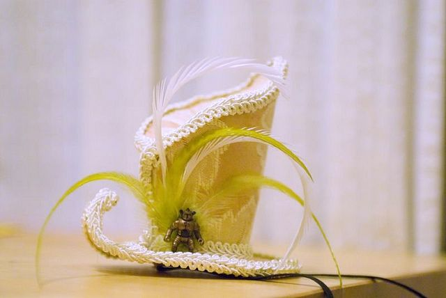 I think I need to make 1 of these for every holiday, especially New Year's Eve. Every girl needs a hat.