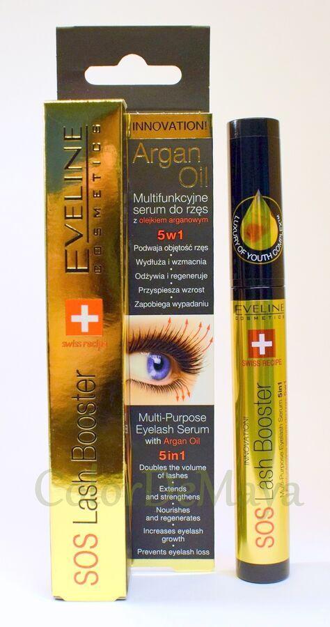 c8a32427f12 Eveline SOS Lash Booster - Multi-Purpose Eyelash Serum 5 in 1 with Argan  Oil 5907609395283 eBay#Booster#Multi#Purpose