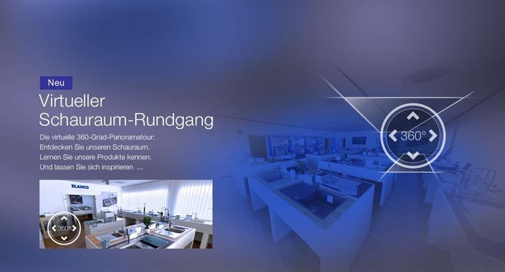 Suche Sie sich die richtige Spüle bequem zu Hause aus - im virtuellen Schauraum von BLANCO! https://www.blanco-germany.com/at/at/home.html?utm_content=buffer26505&utm_medium=social&utm_source=pinterest.com&utm_campaign=buffer