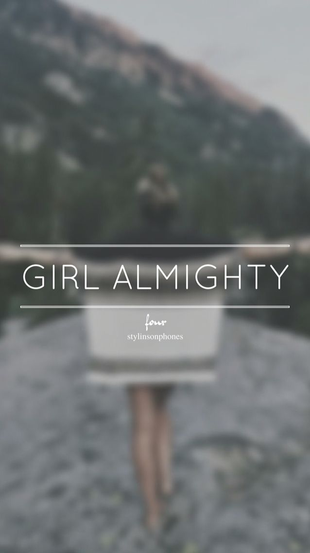 Girl Almighty • Four Lockscreen — ctto: @stylinsonphones