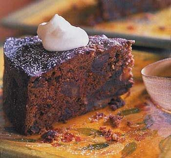 Date, Dried-Cherry and Chocolate Torte
