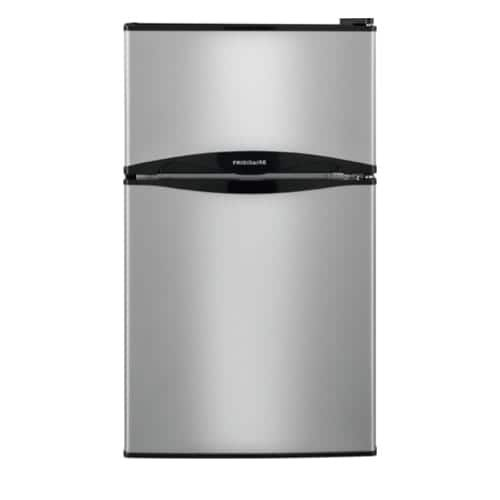 Frigidaire FFPS3122Q 19 Inch Wide 3.1 Cu. Ft. Compact Refrigerator with Store-More Clear Crisper Drawer - Silver