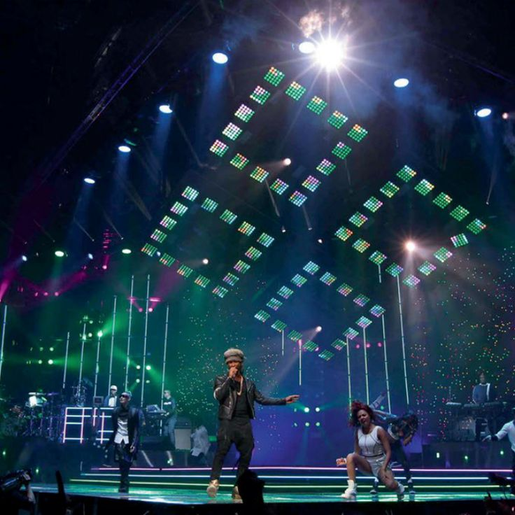Lab.gruppen Powers The Stage for Usher's Tour image