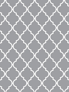 Light Gray/White Quatrefoil Pattern this is my new favorite pattern for pillows and rugs
