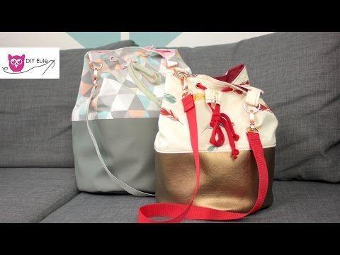 Gratis Nähanleitung & Schnittmuster: Bucket Bag – Ka Milla