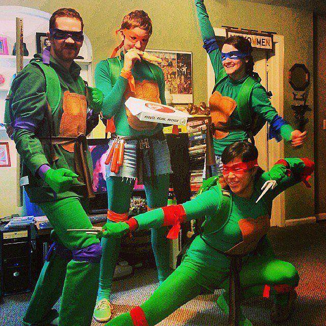 Teenage Mutant Ninja Turtles: Source: Instagram user candacevalora