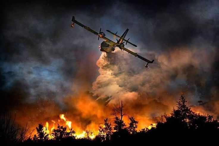 Forest Fire near La Ronge, SK, Canada (811×540)http://living-planet.tumblr.com/