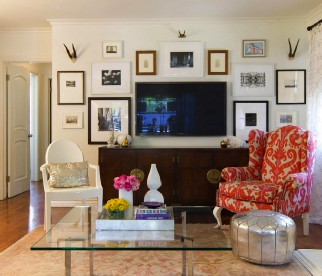 1000 Images About Corner Tv Decorating Tv Ideas On Pinterest Rec Rooms Shelves And White Walls