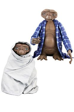 E.T. Mimozemšťan - Home Alone & Moonlight Ride (2 figurky) 13 cm | Figures.cz
