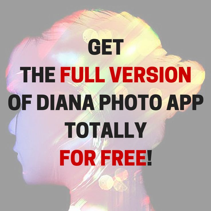 HOT NEWS!  From now on till Friday 20th May, you can get the #DianaPhotoApp totally for free - for #iOS and #Android device!  More info at my Facebook profile: fb.com/dianablog  Ready... Steady... GO!