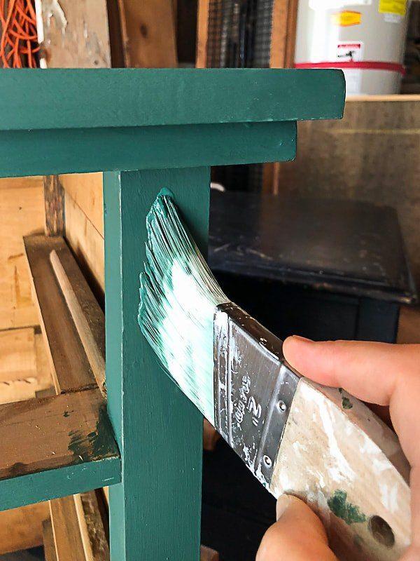 A Dresser That Sat On A Front Porch Gets An Easy Makeover Diy Dresser Makeover Solid Wood Dresser Wood Dresser