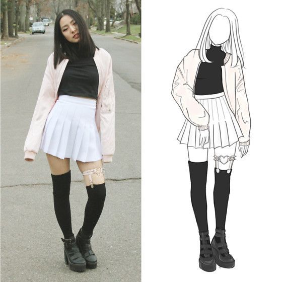 Tennis skirt outfits