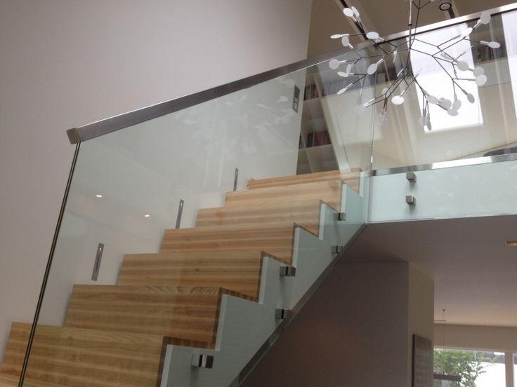 Trappräcke i glas Bildgalleri - Referensobjekt