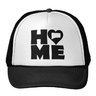 Connecticut Home Heart State Ball Cap Trucker Hat