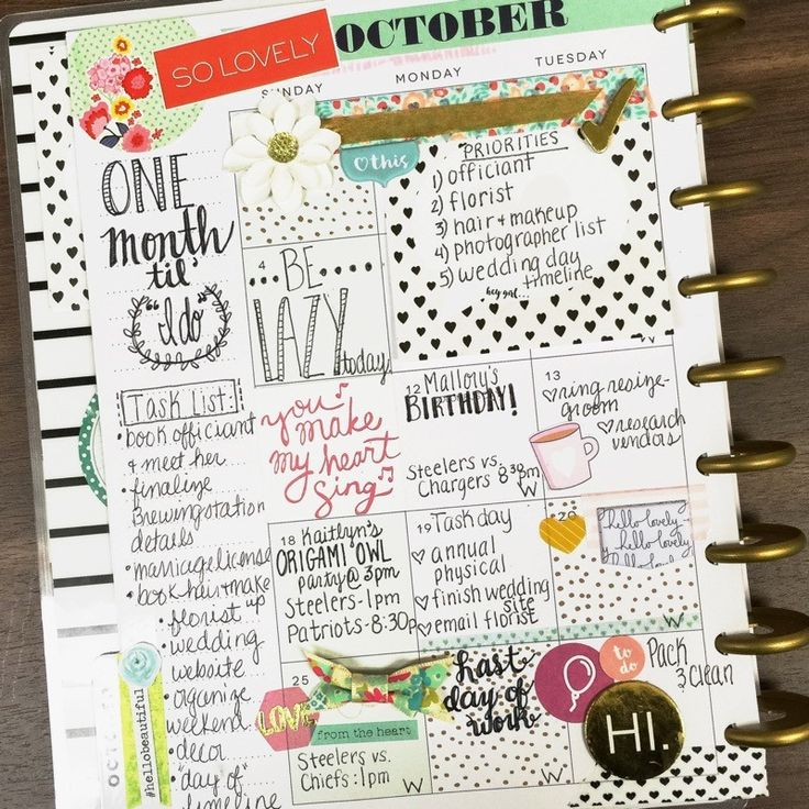 Happy Planner - Weekly Page - Scrapbook.com