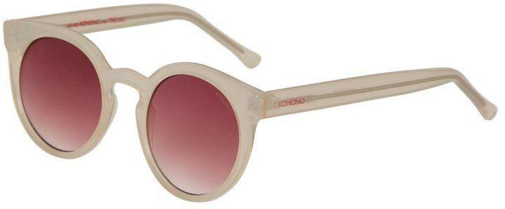 Pin for Later: Die wilden Siebziger sind zurück! Rosarote Sonnenbrille Komono LULU Sonnenbrille pale blush (54,95€)