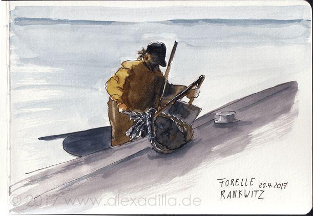 Malreise in kleiner Gruppe nach Usedom. Direkt am Strand liegt unser Atelier und wir können Skizzen & Aquarell bei jedem Wetter umsetzen. Mal dich glücklich!