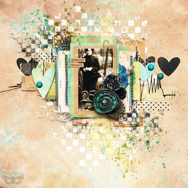 All in one - 7DS, Sizzix and Prima...