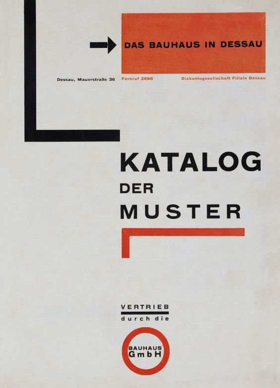 Herbert Bayer, Catalog of Patterns, 1925