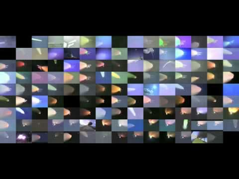 Video of all 135 Space Shuttle launches.