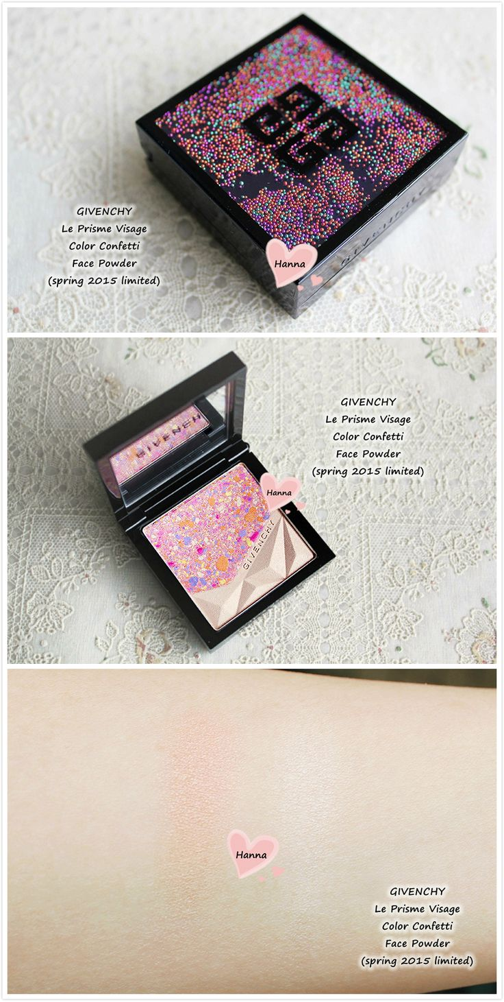 Givenchy  le prisme visage Color Confetti Face Powder  (limited for spring 2015 Colorecreation collection)