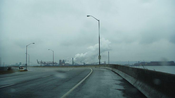 Hamilton, Ontario,  Industrial Rainy Sunday