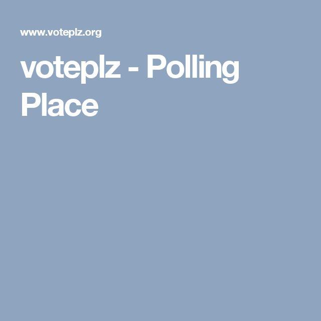 voteplz - Polling Place