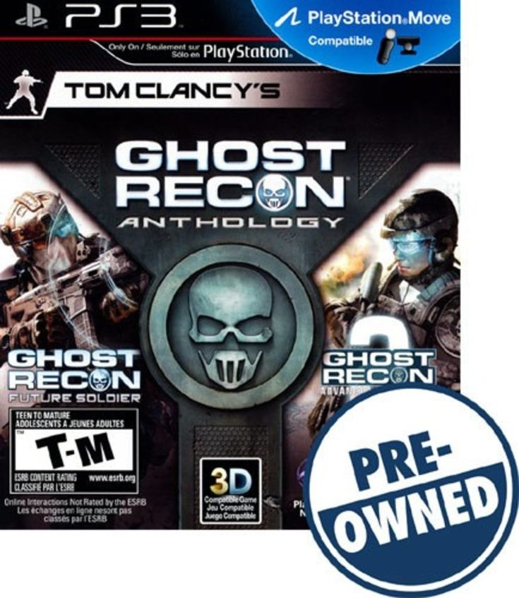 Tom Clancy's Ghost Recon Anthology - PRE-Owned - PlayStation 3