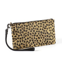 GYRITH leo   Lovely clutch made from real cow skin with leopard print. A fun way to add to your every day or party outfit that really makes you stand out! Price: 349 DKK / 49 €