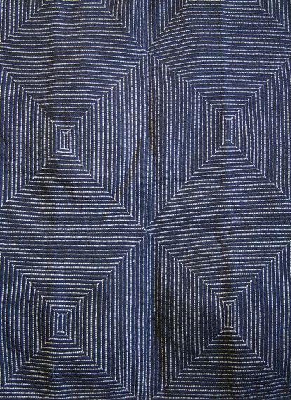 sashiko stitched coat