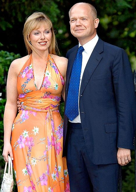 William Hague Wife | Top Tory William Hague flew off on Barclays £500,000 Italian jolly as ...