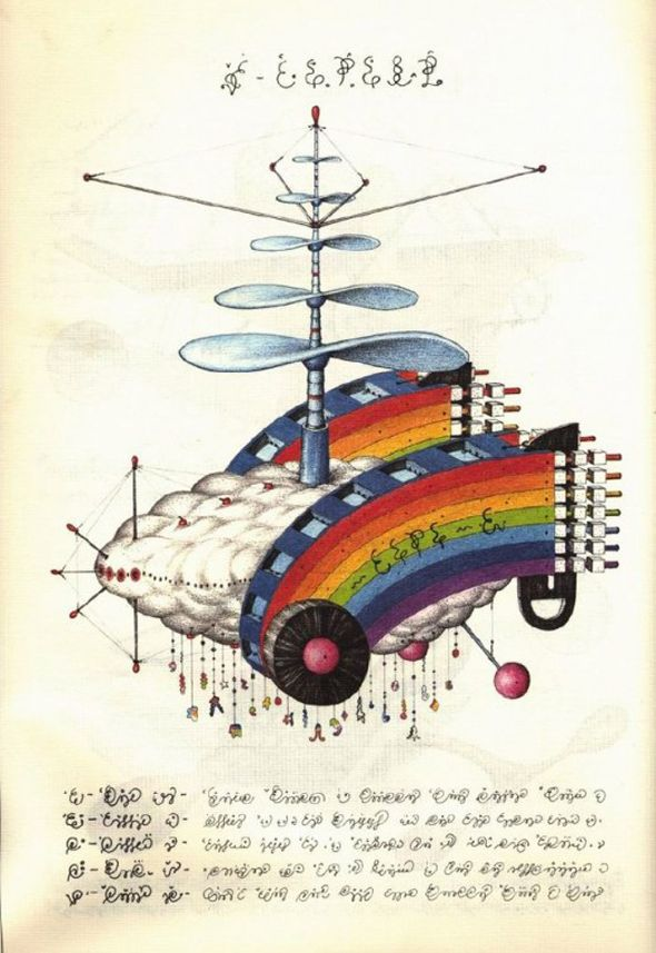 The Worlds Weirdest Book  http://www.visualnews.com/2011/08/01/the-worlds-weirdest-book/