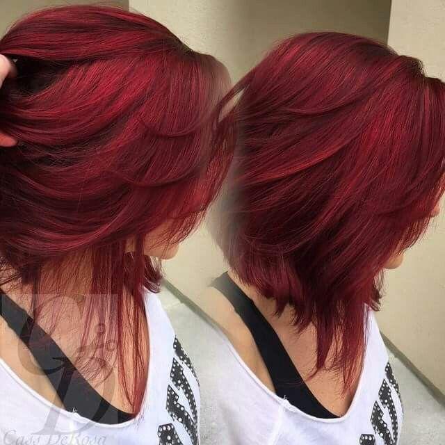 Best 25+ Red bob hair ideas on Pinterest | Graduated bob medium ...