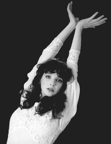 Photos of Kate Bush (by Unknown) [More Kate Bush, Music, Black and White, and Vintage on Rhade-Zapan]