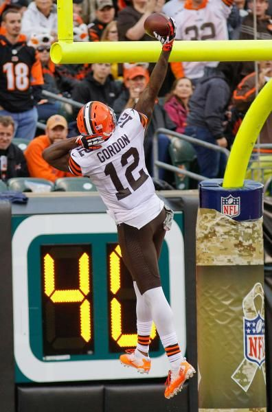Cleveland Browns wide receiver Josh Gordon