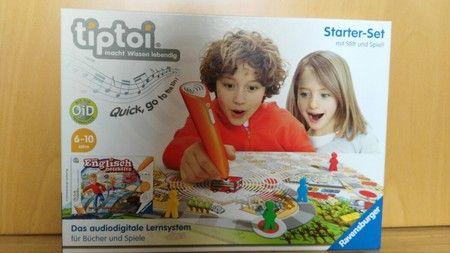 Tiptoi starterset mit stift und spiel für 30,00 € in Regenstauf