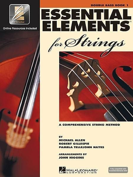 Essential Elements For Strings Double Bass Book 1 Double Bass