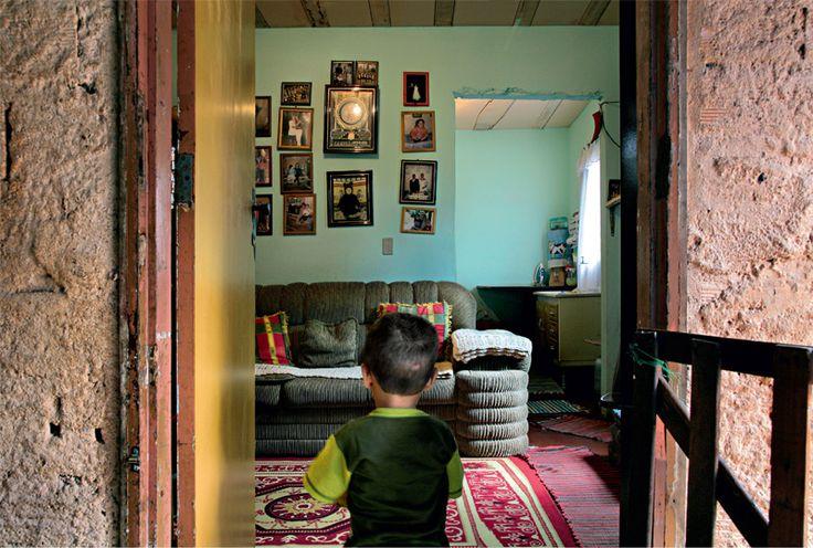 Retrato emocionante da decoração na favela de Paraisópolis - Casa