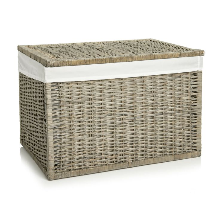 87 best house bits images on pinterest attic spaces - White wicker bathroom accessories ...
