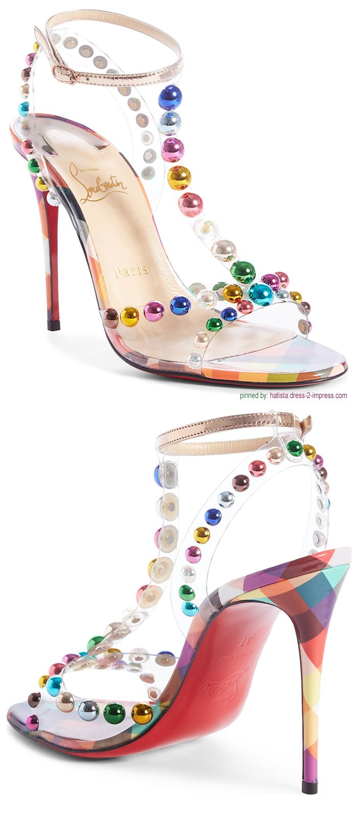 f18988f4af5 Faridaravie Bead Sandal. New Season Spring Summer 2019 Christian Louboutin  Shoes