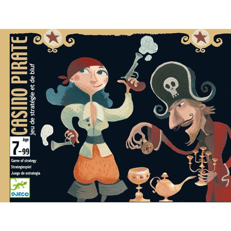 Casino Pirate-blöffölős kártyajáték kalózokkal (Djeco)   Pandatanoda.hu Játék webáruház