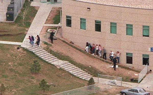 Columbine High School massacre Apr. 20, 1999