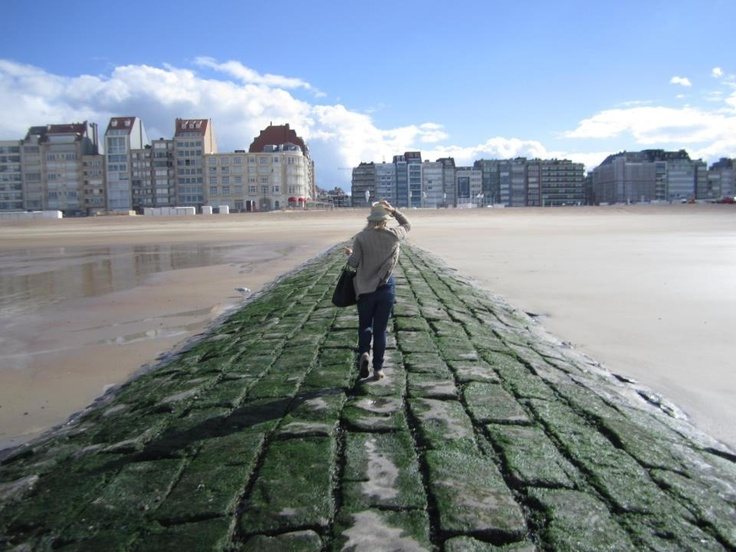 Knokke / Belgium - view of Albert Plage, 16 summers of my youth & some of my best memories.