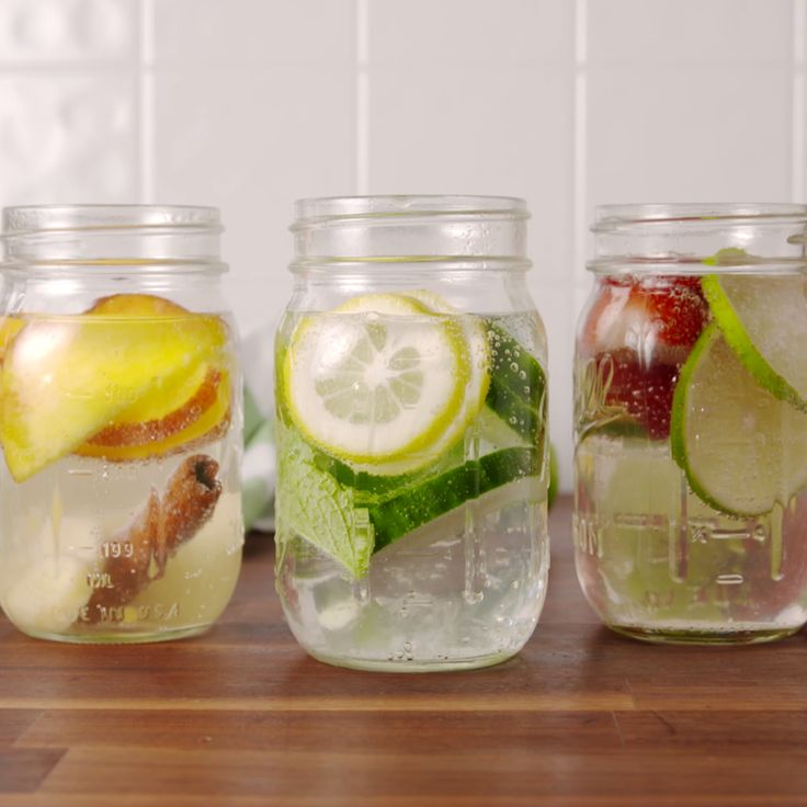 Water is so much more fun with flavor!