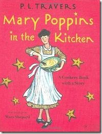 Love the combination of story + recipes, presented alphabetically, with color illustrations by Mary Shepard. Charming!