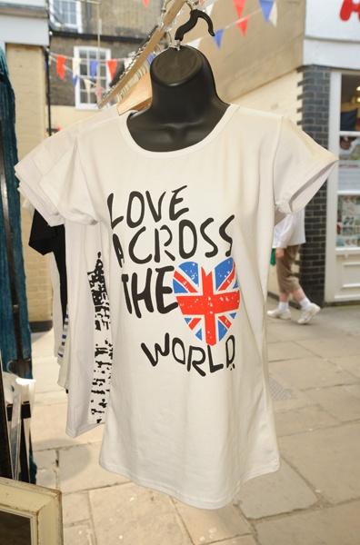 T-shirt from Greenwich Market